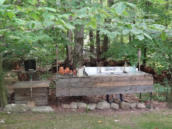 Lakewood 3 Person Swing, Bruce S Homemade Potting Bench