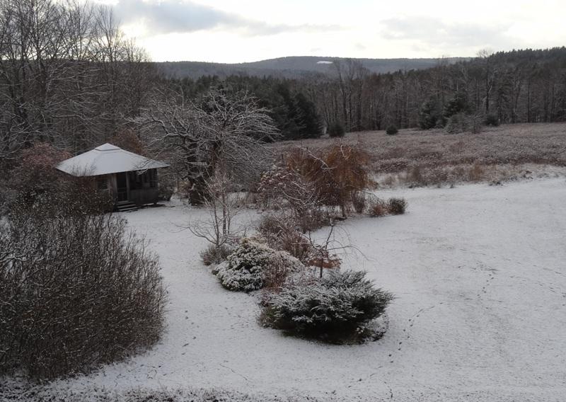 First snowfall November 14, 2014