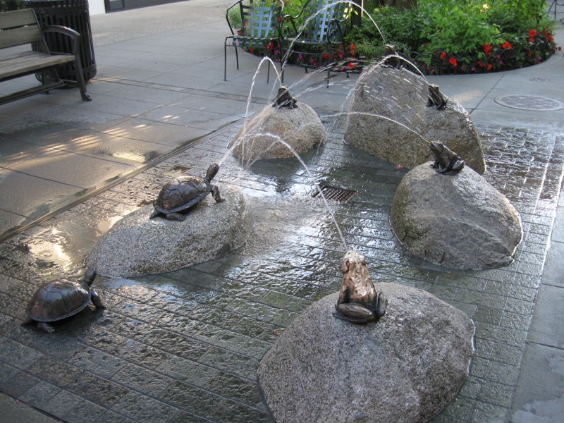 Frog Fountain, Seattle WA