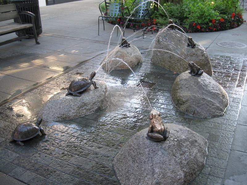 Frog Fountain, Seattle WA