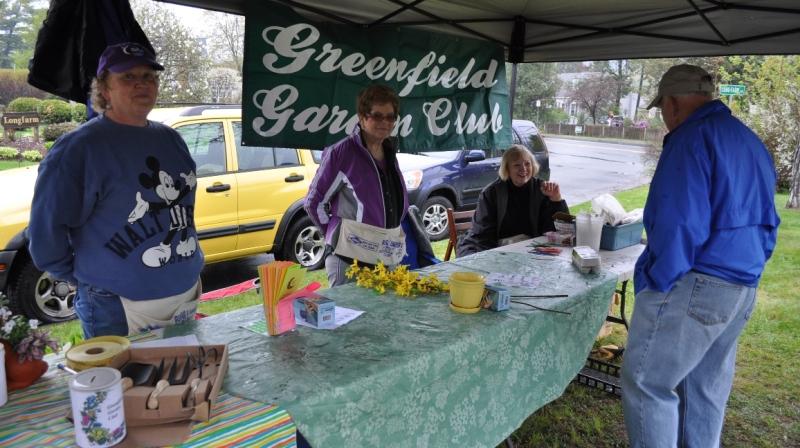 Greenfield Garden Club members