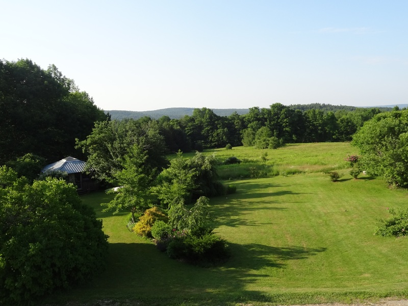 View from the bedroom window July 1, 2015