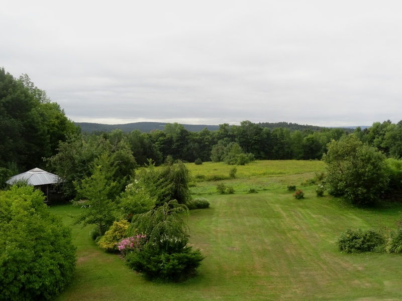 View from the bedroom window August 23, 2015
