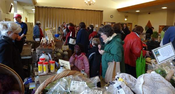 Winterfare, a winter  farmer's market