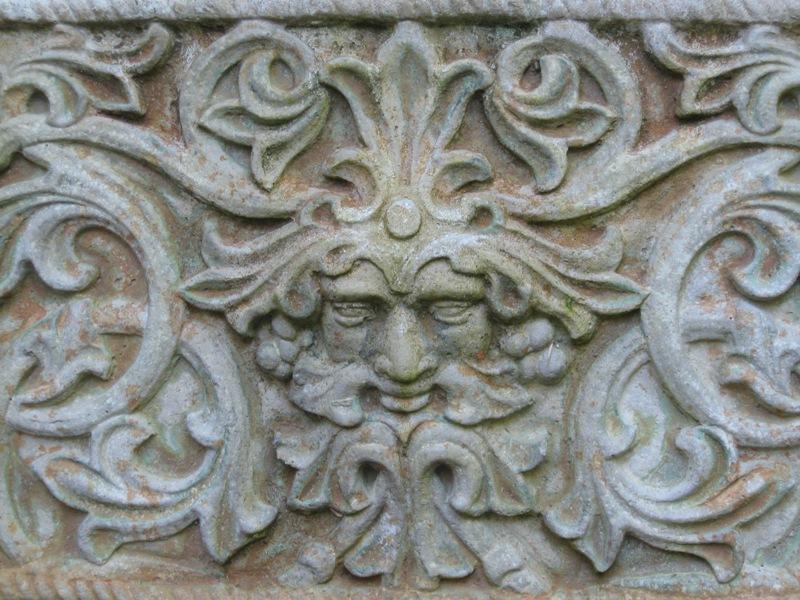 Stone garden plaque