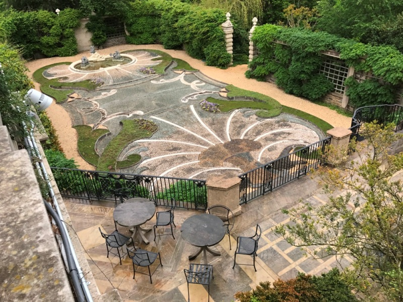 Dumbarton Oaks Pebble Garden