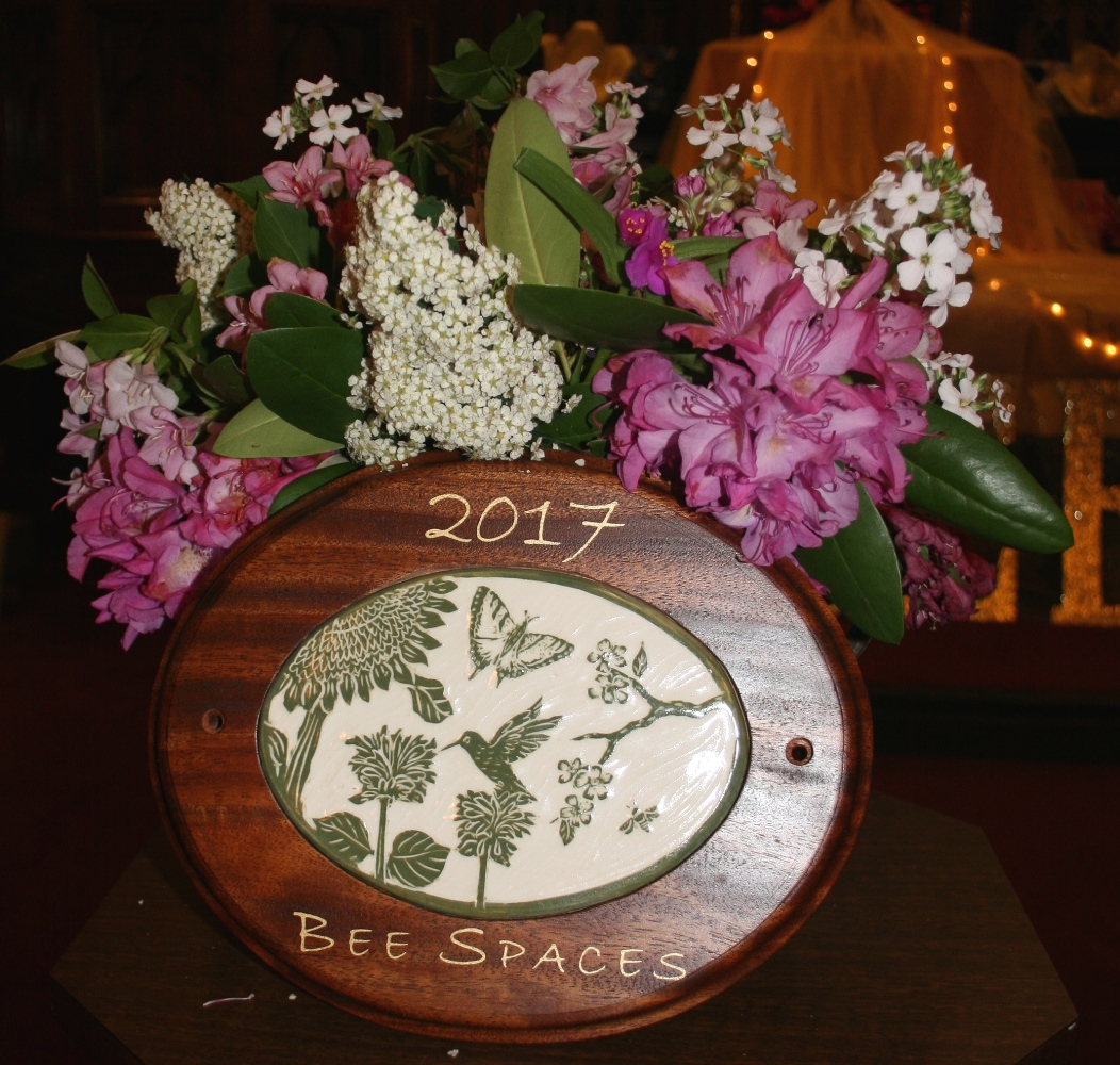 Bee Spaces plaque